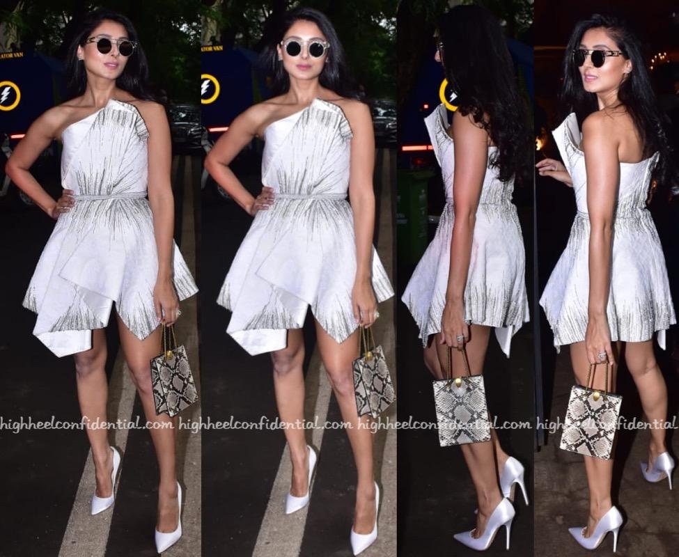 Pernia Qureshi Wears Gaurav Gupta To Rhea Kapoor and Karan Boolani Wedding  Reception:Party - High Heel Confidential