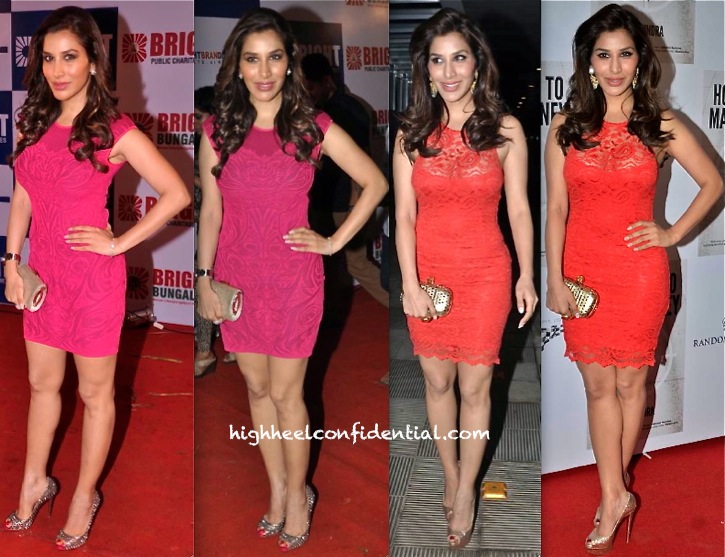 Sophie Choudry At Yogesh Lakhani's Birthday Do And At Raj Kundra's Book Launch