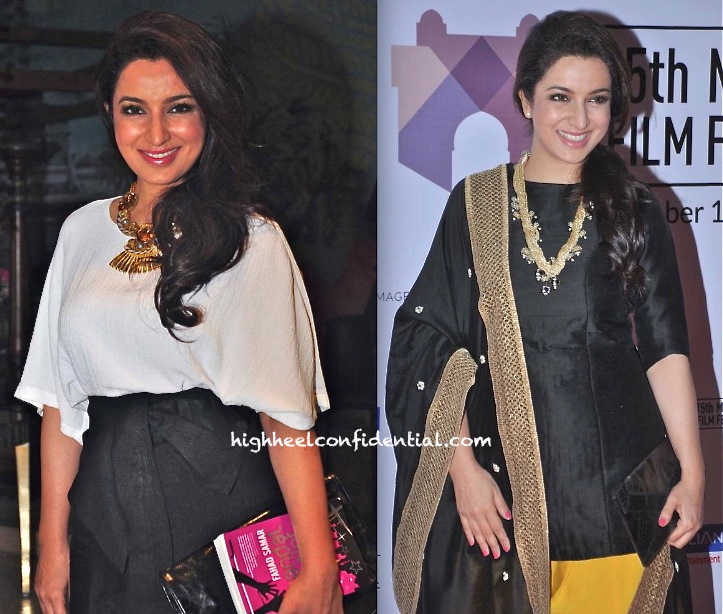 tisca chopra at farhad samar scandal point book launch-mumbai film festival 2013-2