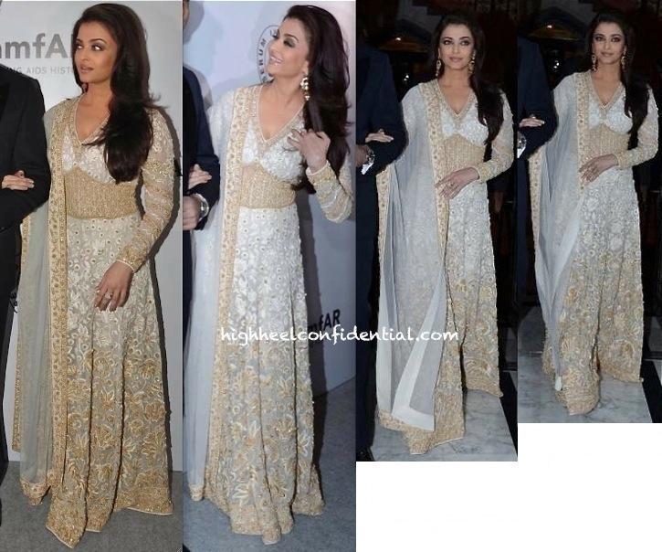 Aishwarya Rai Bachchan In Abu Jani Sandeep Khosla At The amfAR Gala-2