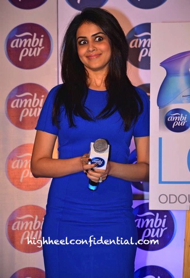 Genelia D'Souza In French Connection At An Event For Ambi Pur