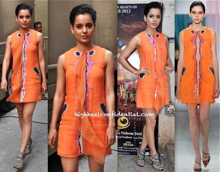 Kangna Ranaut Promotes Rajjo In Dior-1