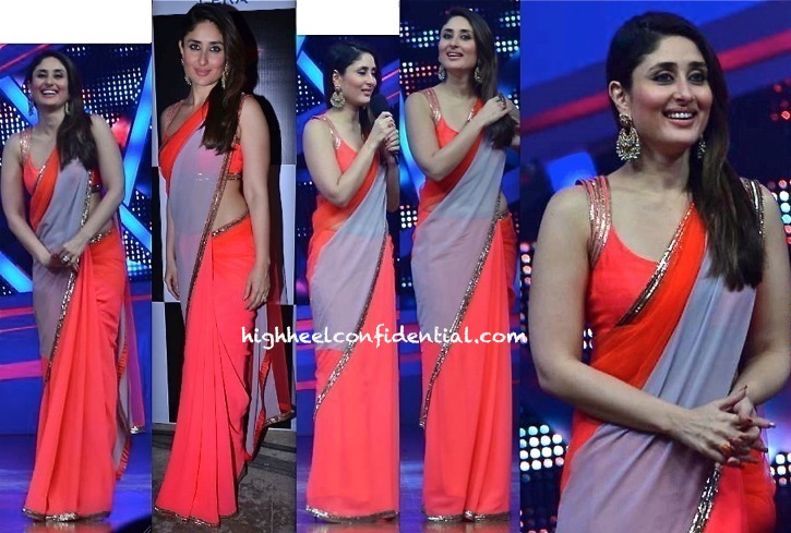 Kareena Kapoor In Manish Malhotra On 'Nach Baliye' Sets For 'Gori Tere Pyaar Mein' Promotions-1
