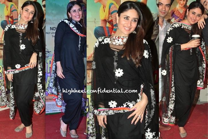 Kareena Kapoor Wears Amber Pret By Prarthana To 'Gori Tere Pyaar Mein' Promotions-1