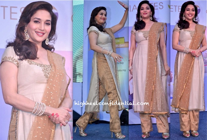 Madhuri Dixit At Sanofi Diabetes Awareness Event-2