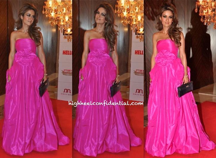 Natasha Poonawala At Hello! Hall Of Fame Awards 2013