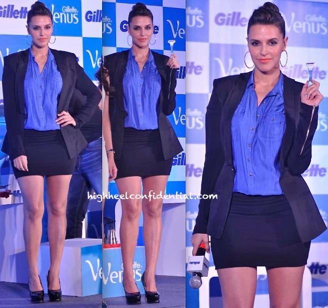 Neha Dhupia In DRVV At Gillette Event-2