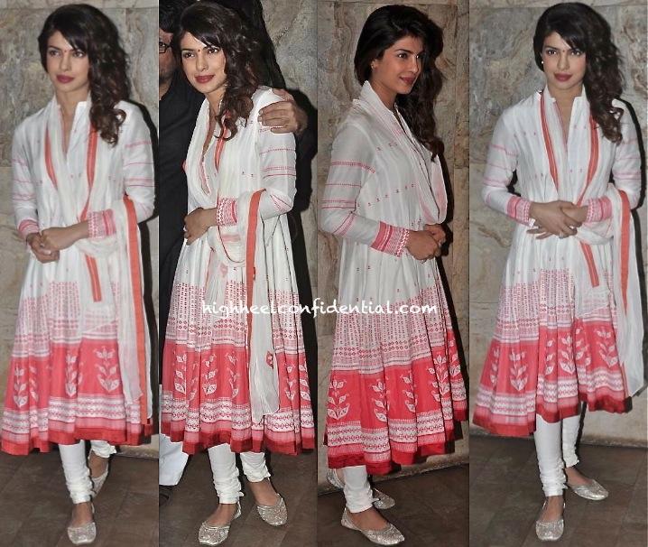 Priyanka Chopra In AM-PM By Ankur And Priyanka Modi At Ram Leela Screening-2