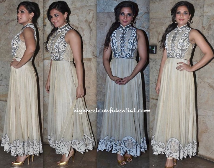 Richa Chadda In Pankaj And Nidhi At 'Ram Leela' Screening-1