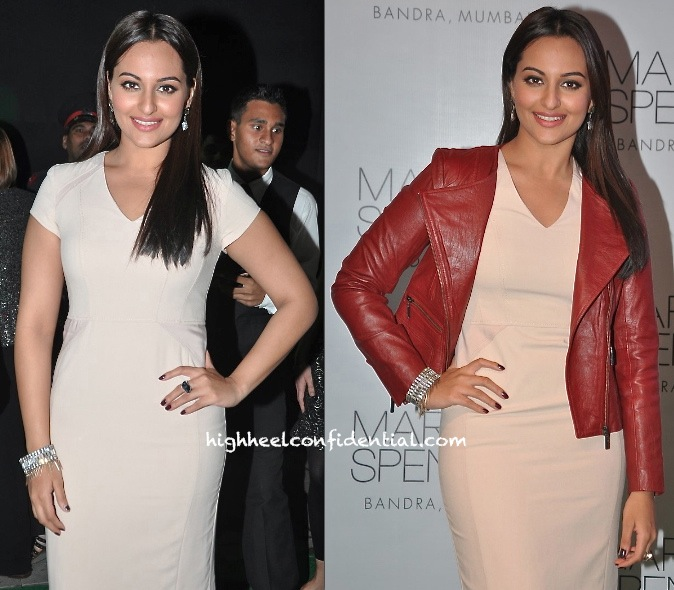 Sonakshi Sinha At Marks And Spencer Store Launch-2