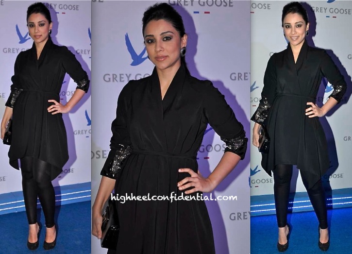 Amrita Puri In Namrata Joshipura At Grey Goose Style Du Jour Event