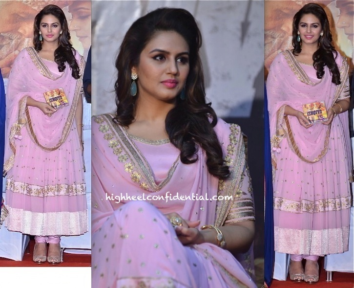 Huma Qureshi At Dedh Ishqiya Music Launch In Mehvish
