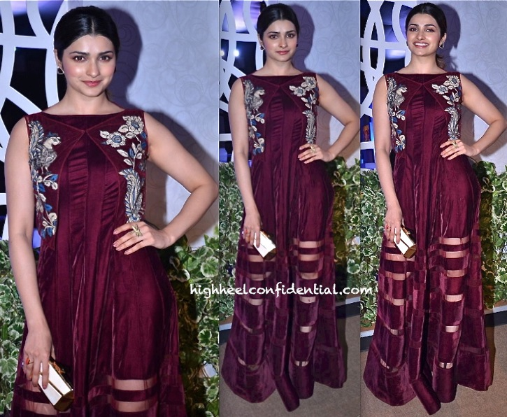 Prachi Desai In Neeta Lulla At India Bridal Week 2013