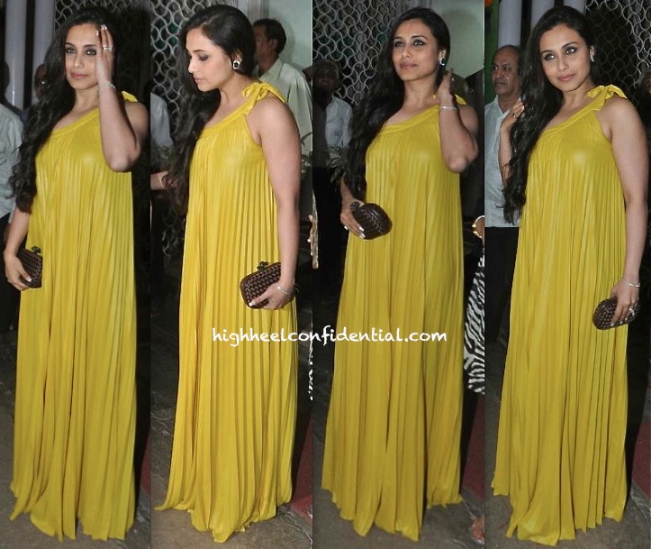 Rani Mukherjee In BCBG At Dilip Kumar's Birthday Celebrations-1