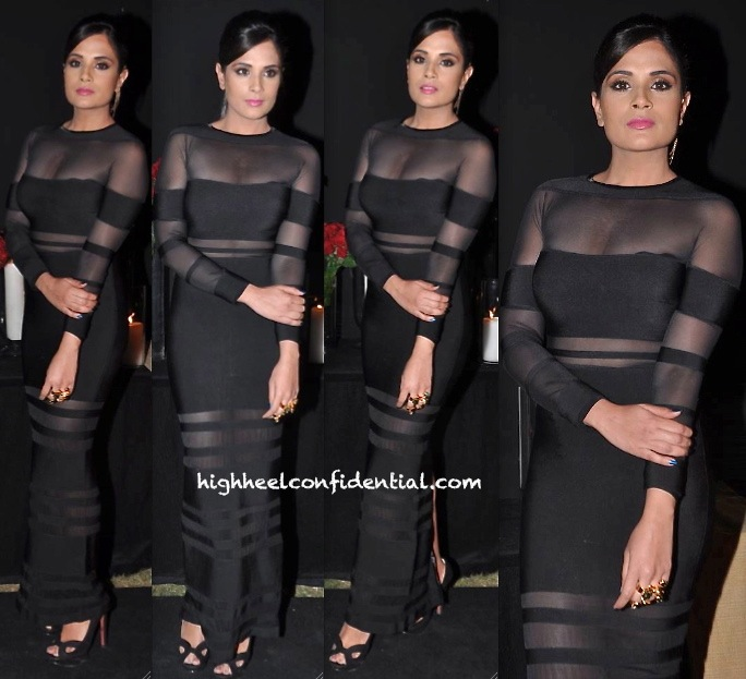Richa Chadda In Hervé Léger At Deepika Padkone's Success Do