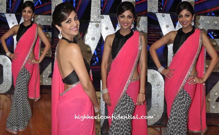 Shilpa Shetty On Nach Baliye Sets In Manish Malhotra-2