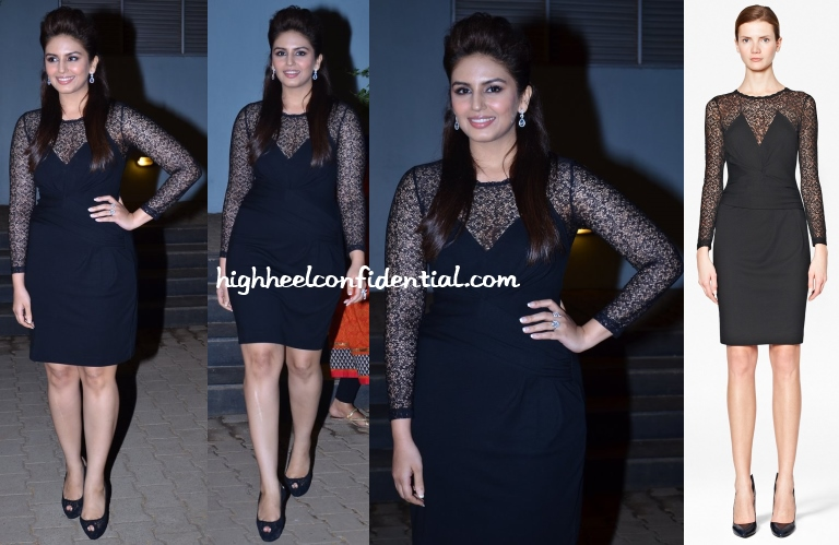 huma-qureshi-french-connection-celebrity-cricket-league-launch