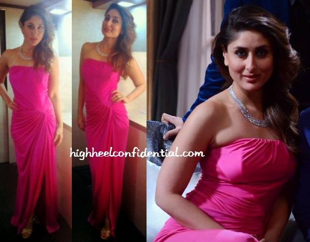 kareena-kapoor-koffee-with-karan-monisha-jaising-pink-gown