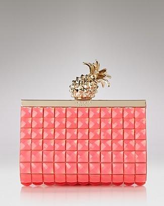 lara-dutta-kate-spade-pink-pineapple-clutch