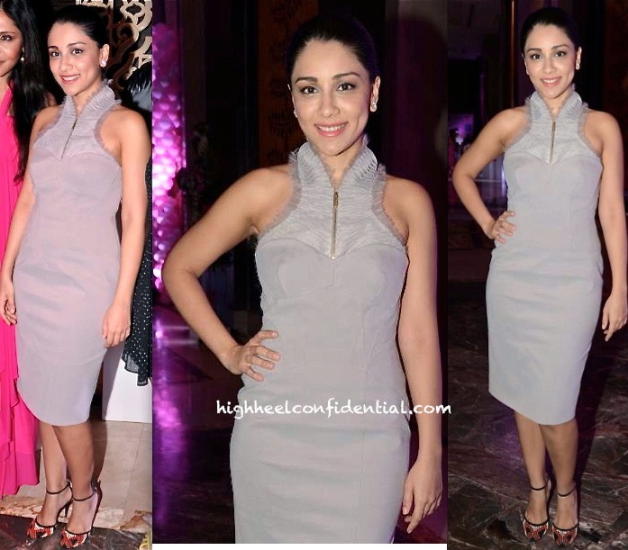 Amrita Puri In Karen Millen At The 'Pinkfilly' Breast Cancer Awareness Fundraiser