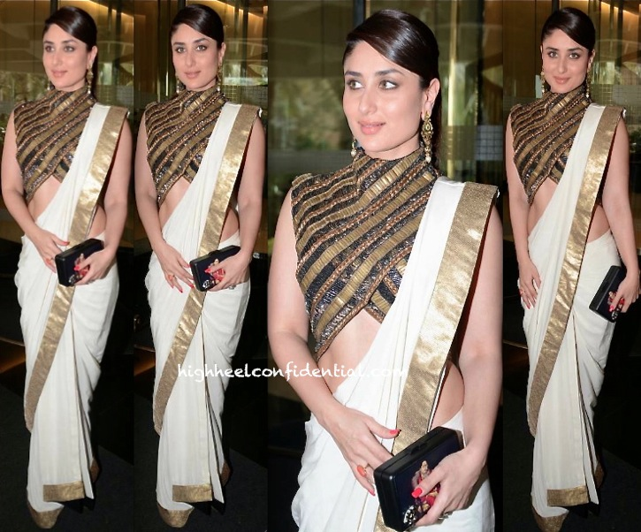 Kareena Kapoor In Anand Kabra At A Luncheon Held In Honor Of Valérie Trierweiler-2