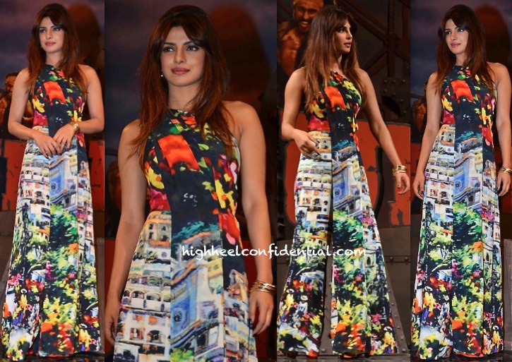 Priyanka Chopra In Gauri And Nainika At 'Gunday' Music Launch-2