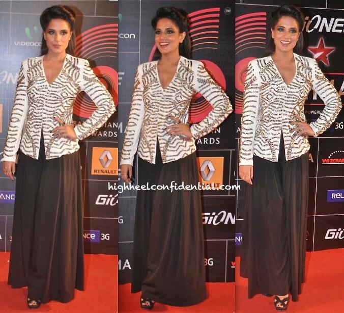 Richa Chadda In Namrata Joshipura And The Source At Global Indian Music Awards 2014-1