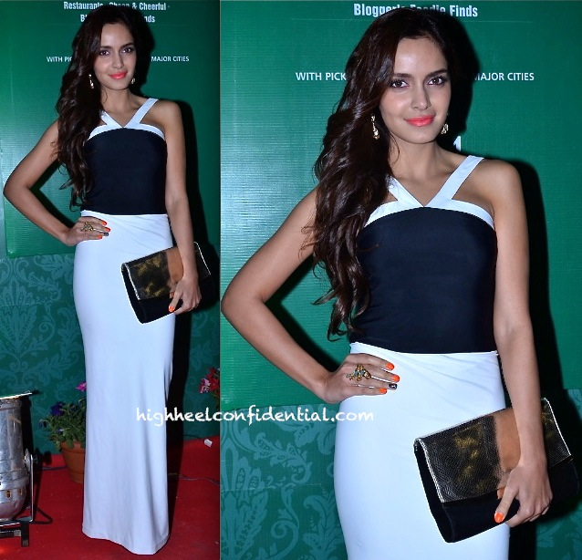 Shazahn Padamsee In Harsh Harsh At Times Good Food Awards 2014