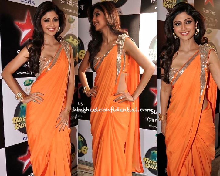 Shilpa Shetty In Gaurav Gupta On Nach Baliye Sets-2