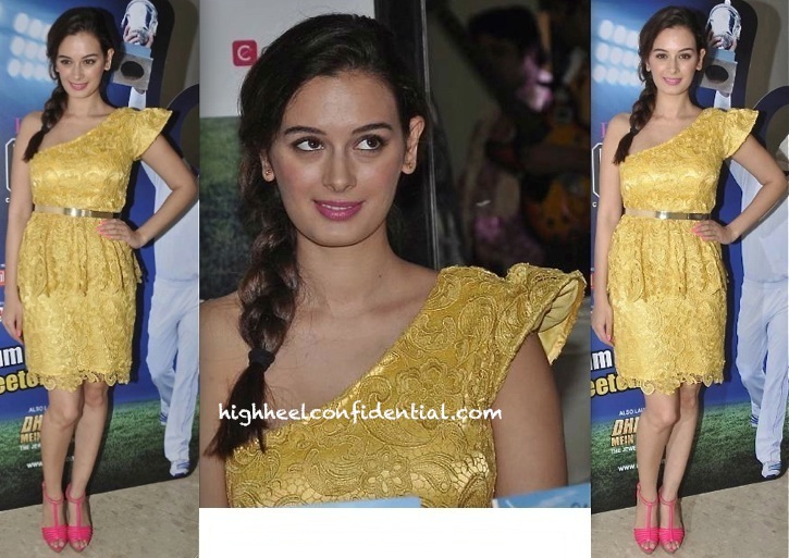 evelyn sharma in pria kataria puri at jewellers cricket challenge press conference