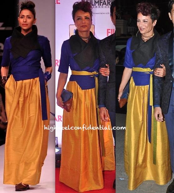 filmfare awards 2014-adhuna akhtar-payal khandwala