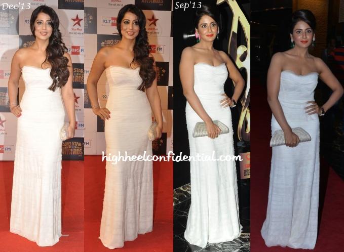 mahie-gill-parul-yadav-big-star-awards-siima-party