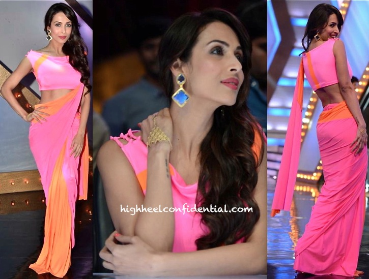 malaika arora khan in shivan narresh on india's got talent sets-1