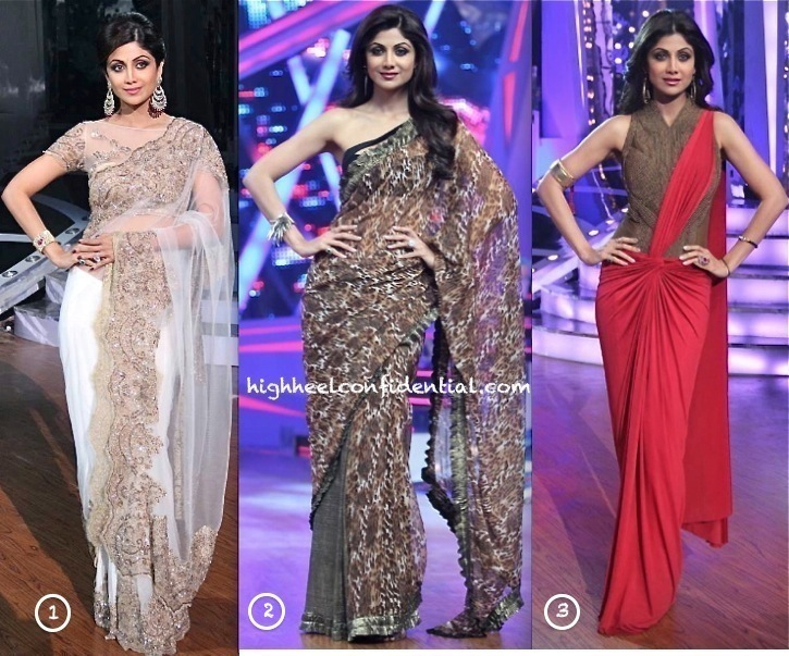 shilpa shetty in neeta lulla and amit aggarwal on nach baliye sets