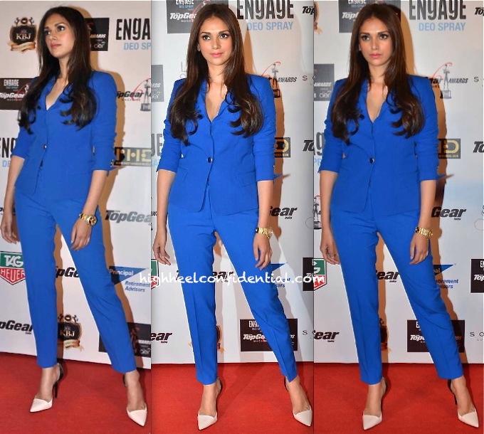 Aditi Rao Hydari In Zara At Top Gear Awards 2014-1
