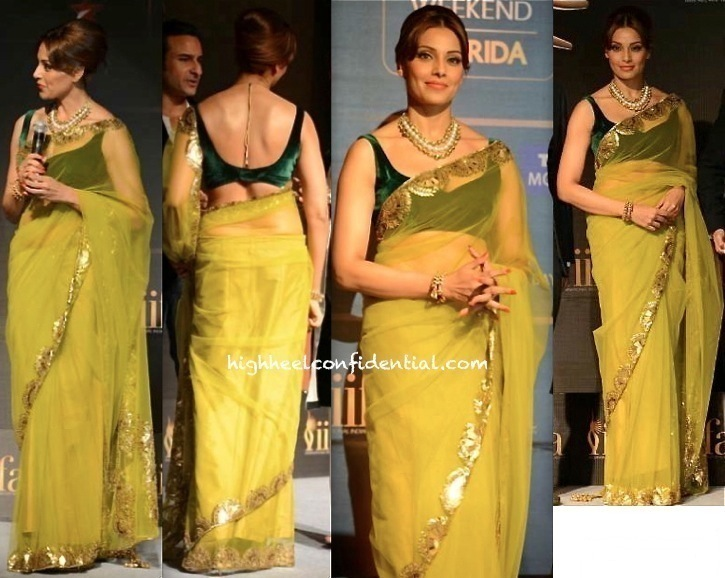 Bipasha Basu In Manish Malhotra At IIFA 2014 Press Meet-1