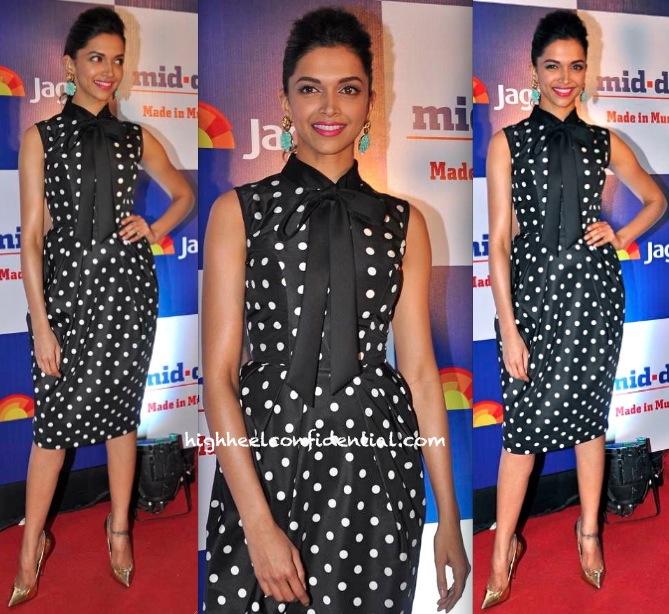 Deepika Padukone At Mid-Day Bash