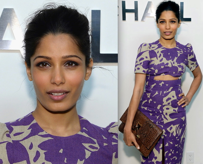 Freida Pinto At Michael Kors Show During New York Fashion Week-2
