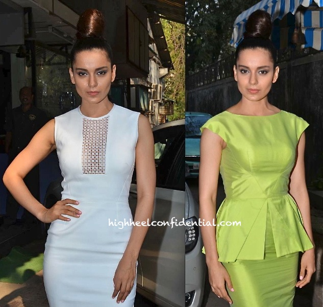 Kangna Ranaut At 'Queen' Promotions And At A Book Launch-2