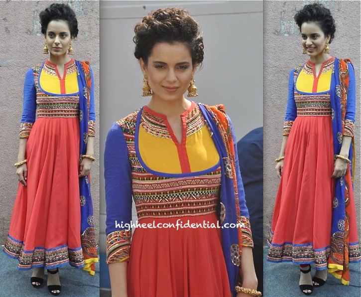 Kangna Ranaut On 'India's Got Talent' Sets For 'Queen' Promotions-1