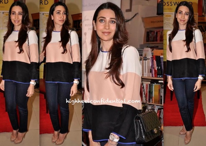Karisma Kapoor At Crossword For A Book Launch