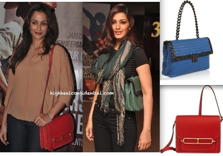 Sonali Bendre And Gayatri Oberoi At 'Dallas Buyers Club' Screening-1