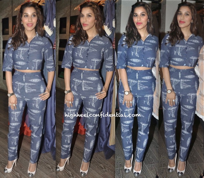 Sophie Choudry In Nishka Lulla At Atosa