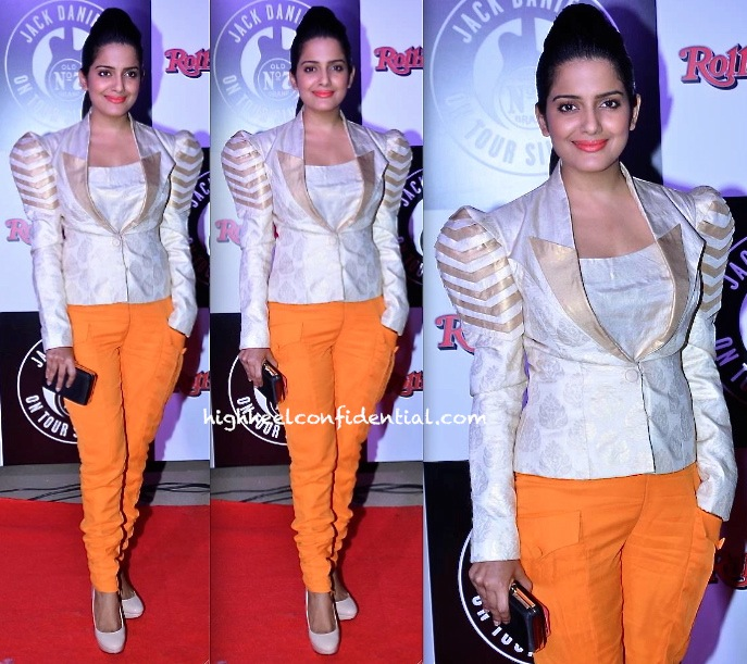 Vishakha Singh In MapxencaRS At Jameson Short Film Screening