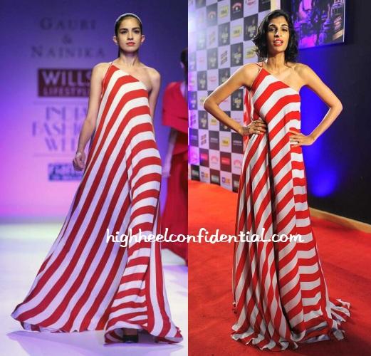anushka-manchanda-gauri-nainika-radio-mirchi-awards-2014