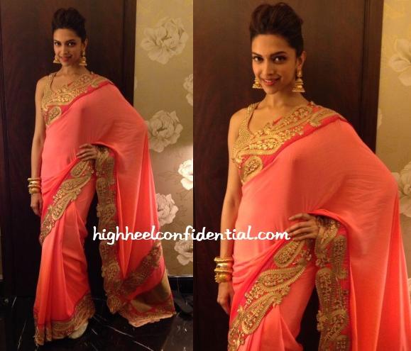 deepika-padukone-ahana-vaibhav-wedding-reception-jade-sari-1