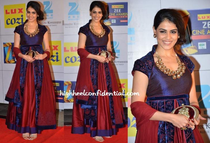 genelia-d-souza-rohit-bal-zee-cine-awards-2014