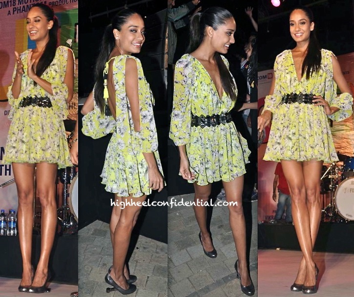 queen music launch-lisa haydon in surily goel