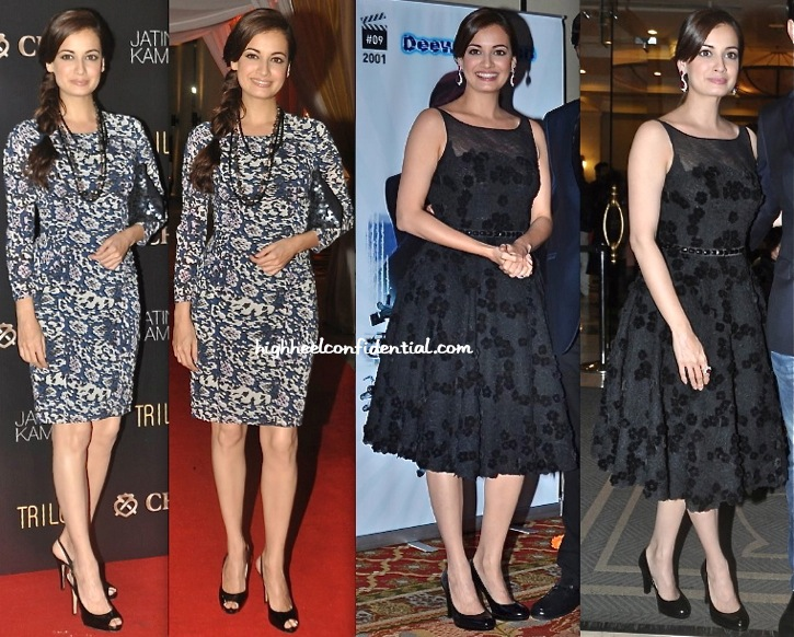 Dia Mirza (In Rocky S) At Vashu Bhagnani 25 Years Celebration And At Chivas Event