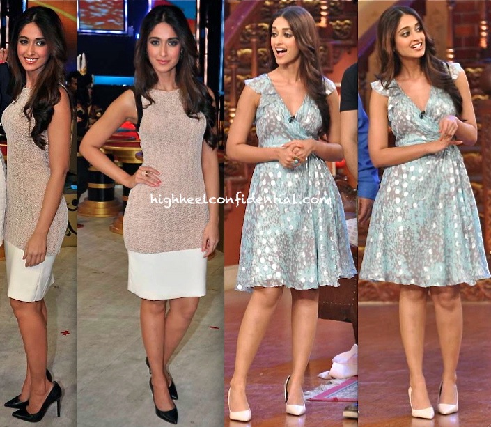 Ileana D'Cruz In DvF On Comedy Nights With Kapil Sets And In Arpan Vohra On India's Got Talent Sets-1